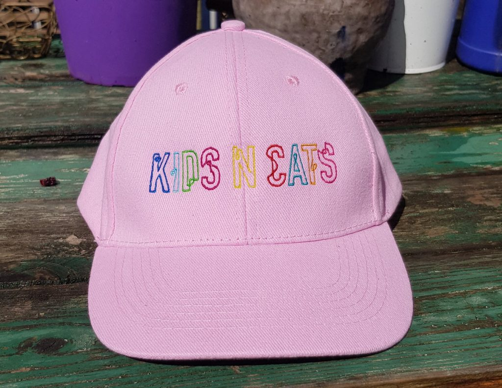 baseball-cap-with-kids-n-cats-logo